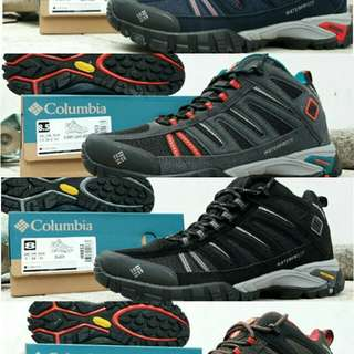 Sepatu gunung outdoor tracking COLUMBIA waterproof original