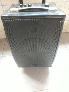 6mnths old Bauhn 30 watts Portable Amplifier