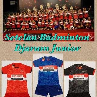 Kaos badminton Junior Setelan Li-Ning