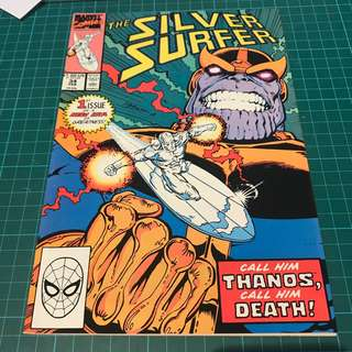 Marvel Comics Silver Surfer #34 Thanos Returns Movie-Tie In Avengers Infinity War HOT NM- Gauntlet