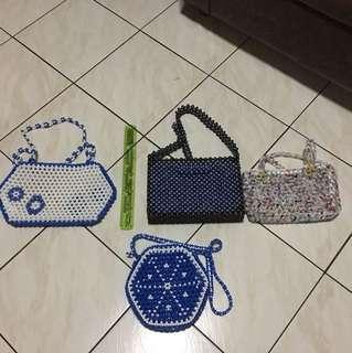 Bead bags (4)