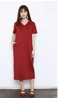 Heidi red dress