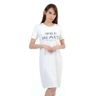 BAJU MINI DRESS MURAH WANITA WILD HEART