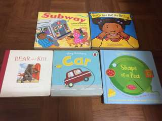 Set of 5 Board Books