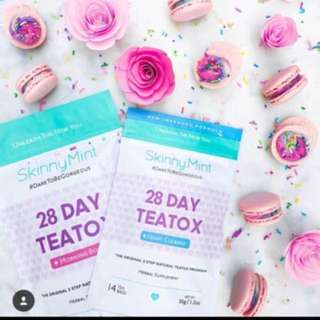*SALES!* BN Skinny Mint 28 Day Ultimate Teatox