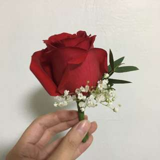 Rose Boutonniere / Rose Corsages / Huge Rose