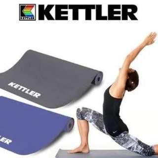 Matras yoga 5.0-6.0mm KETTLER Gratis Tas