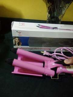 3 barrel Hair Curler