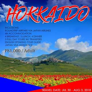 5D4N KITA KITA HOKKAIDO TOUR