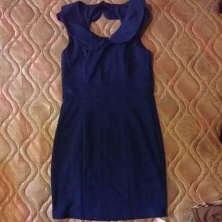 Preloved Sapphire Blue Dress #FEB50