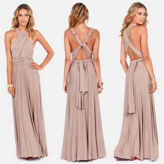 Infinity dress (nude color)