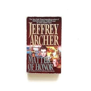 A Matter of Honor (Jeffrey Archer)