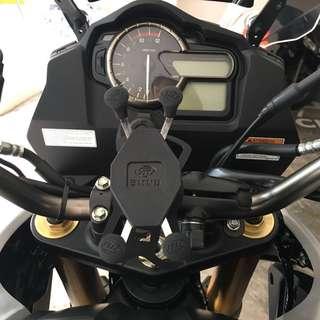 V strom 1000 smnu X grip motorcycle phone holder