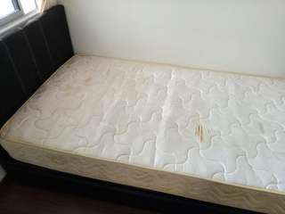 Super single divan bed set