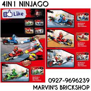 For Sale NINJAGO 4in1 set DLP518