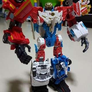 Transformers Combiner wars Sky lynx customize + ko perfect effect hands legs