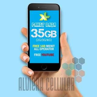 "PROMO PAKET DATA XL ""XTRA COMBO"" XL 42GB/ PERDANA XL"
