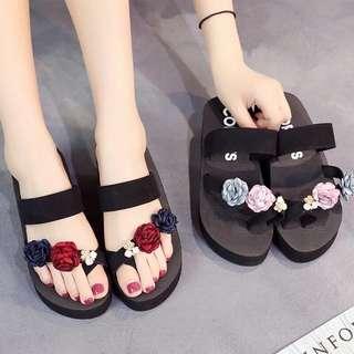 Little Flowers Summer Platform Sandals
