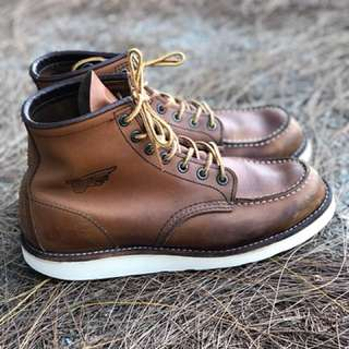 Red Wing 875 Wing Logo Dead Stok