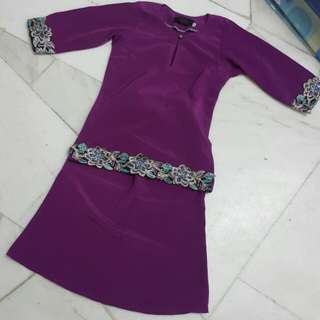 Baju Kurung Moden for kids (2 Year)