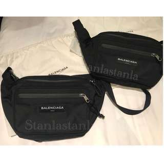 Balenciaga腰包 belt waist cross body bag