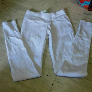 Strecheable Pants (white)