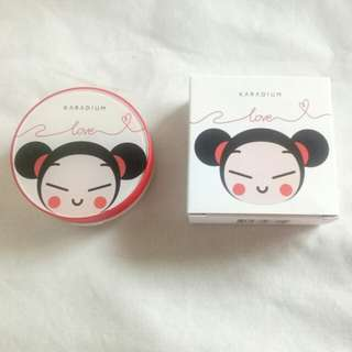 Karadium x Pucca Blurring Cushion