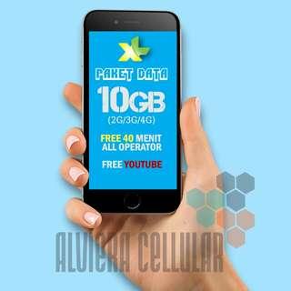 "PROMO PAKET DATA XL ""XTRA COMBO"" XL 12GB/ PERDANA XL"