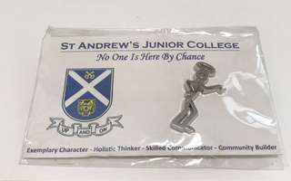 St. Andrew Junior College collar pin