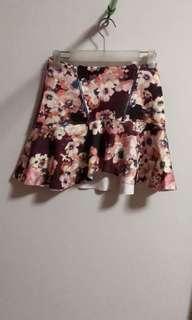 A short skirt
