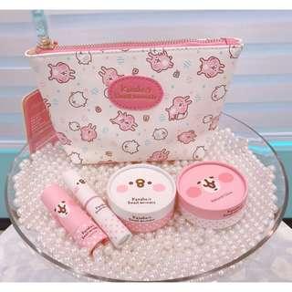 兔兔與P助 卡娜赫拉化妝品 台灣直送 台灣代購