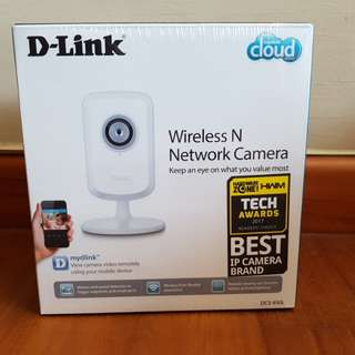 Wireless N Network Camera by D-Link - Model DCS-930L
