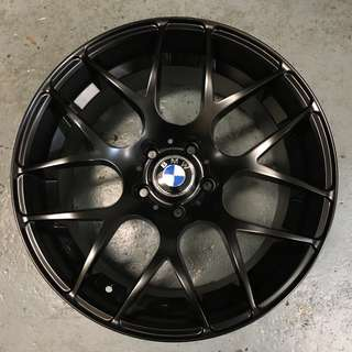18 Inch New BMW Rims Matt Black