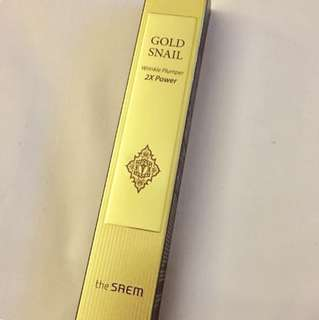The Saem Gold Snail Wrinkle Plumper 2X Power