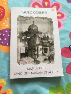 Manuskrip yang Ditemukan di Accra Paulo Coelho