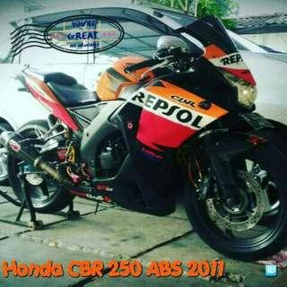 Honda cbr 250 buatan thailand