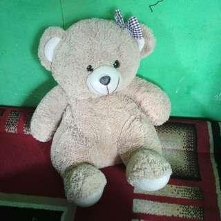 #MakinTebel boneka teddy bear