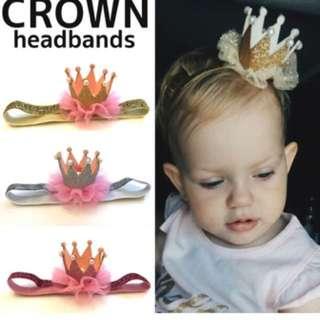 Baby Girl Crown Headband