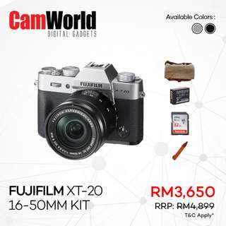 Fujifilm XT-20 16-50mm Kit