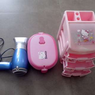 Blower and hello kitty