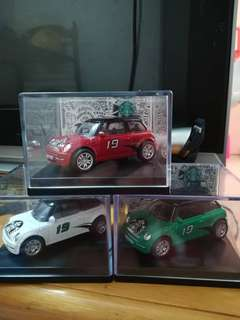 Starbucks 19th anniversery mini car 3 pcs 1set