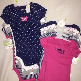 "Carter's 5 pc. Bodysuit ""I love daddy"""