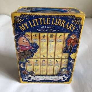 My little library of classic nursery rhymes