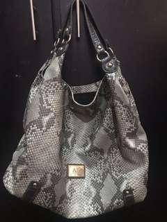 Anne Klein Snakeskin Bag