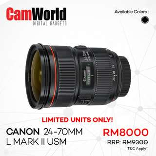 Canon 24-70mm L Mark II USM