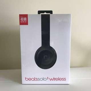 Selling beats solo 3 wireless headset (Matte black)