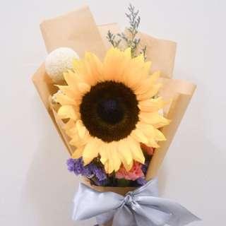 Evelyn Sunflower Bouquet