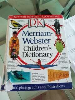 Children's webster dictionary