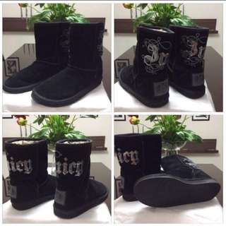 JUICY COUTURE BOOTS SIZE 7 $50