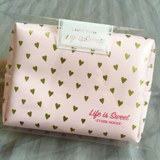 Etude House Cosmetic Make Up Pouch